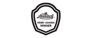 16th Webby Awards Winner
