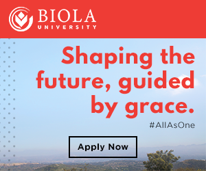 Biola University: Shaping the future, guided by grace.