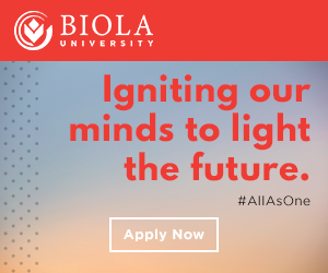Biola University: Igniting our minds to light the future. Find out more.