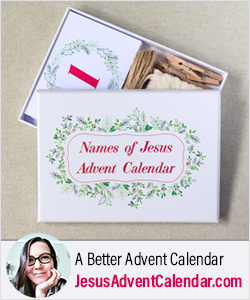 Jesus Advent Calendar