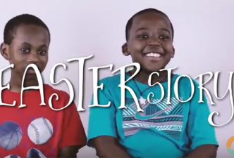 Read Cute kids tell the Easter story!