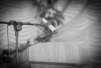 Read 10 tips for public speaking