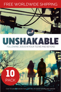 Unshakable: Following Jesus in your teens and beyond (10 book pack) image