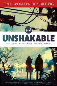 Unshakable: Following Jesus in your teens and beyond image
