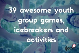 Read 39 awesome youth group games, ice breaker games and activities
