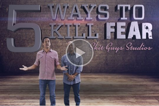 Five ways to kill fear | Christian Youth Videos, Animations
