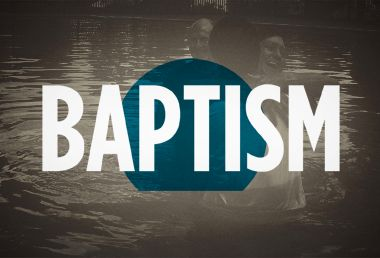 Image: The beginner's guide to baptism