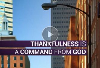 Read What does it mean to be thankful?
