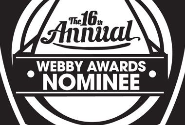Image: Fervr nominated for Webby Award