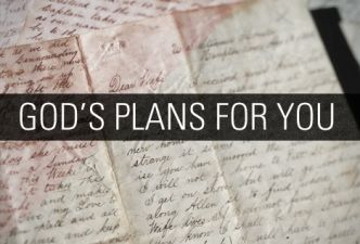 Read God's plans for you