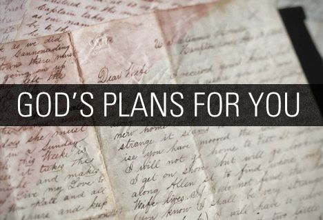 Image: God's plans for you