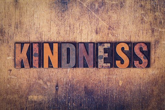 Image: Make kindness your cornerstone