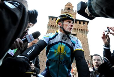 Image: Should Lance Armstrong be forgiven?
