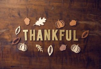 Read Living a life of thankfulness