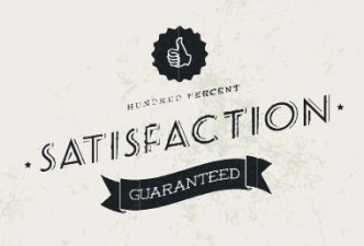 Read No satisfaction - guaranteed!