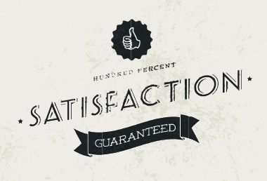 Image: No satisfaction - guaranteed!