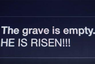 Read He's still risen