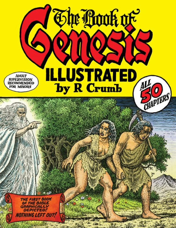 Image: The Book of Genesis Illustrated by Robert Crumb