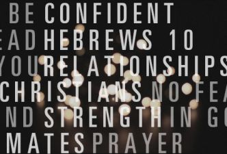 Read How to become a confident Christian