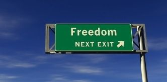 Image: Freedom = Mission