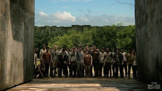 Image: The Maze Runner: Movie Review