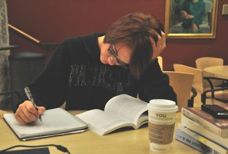 Read Three ways to manage stress in your last year of school