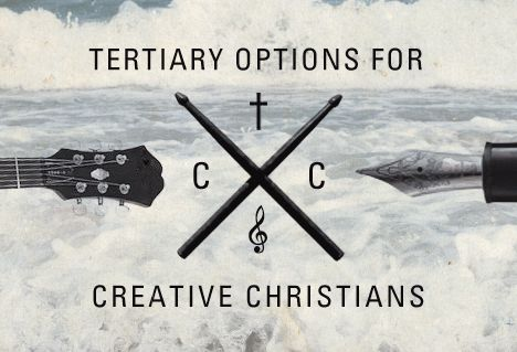 Image: Tertiary options for creative Christians