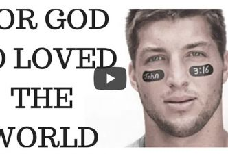 Read Tim Tebow's crazy John 3:16 story