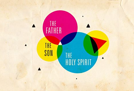 Image: Father, Son, Holy Sprit : 3 persons, 1 great relationship