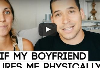 Read What if my boyfriend pressures me physically?