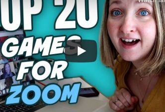 Read 20 fun Zoom games for playing with kids and teens